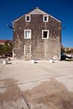 Stone house mediterranean Royalty Free Stock Photos