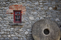 Stone House. The picture was taken in Skerries, Ireland Stock Photography
