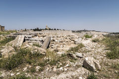 Stone House Ruins - Jerusalem Stock Images