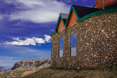 Stone house. Stock Images