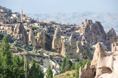 Stone houses in Cappadocia, Turkey Stock Image