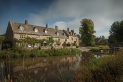 Stone houses in Lower Slaughter, Cotswolds, England Stock Photography