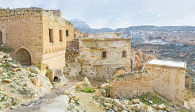 The stone houses Royalty Free Stock Images