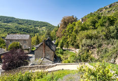 Stone houses in a rural village Royalty Free Stock Photography