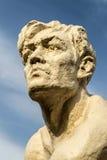 Stone Human Statue Head Royalty Free Stock Photography