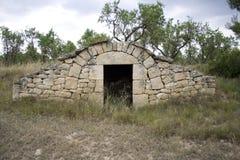 Stone hut Stock Image