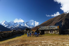 Stone hut in the Everest Royalty Free Stock Photos