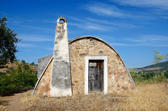 Stone hut - horizontal Royalty Free Stock Photography