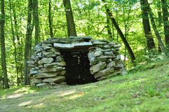 Stone hut Royalty Free Stock Image