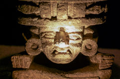 Stone idol from Teotihuakan. Mexico Stock Photography
