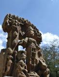 Historic Stone Idols of  Hindu Diety Royalty Free Stock Photo