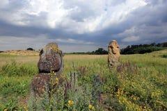 Stone idols Royalty Free Stock Photo