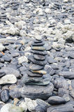 Stone. Island of stone or koh hin ngam in Thailand Royalty Free Stock Photos