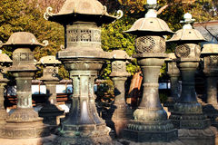 Stone japan Royalty Free Stock Photography