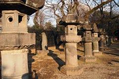 Stone japan Stock Photo