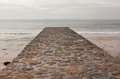 Stone jetty Stock Photography