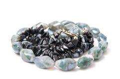 Stone jewels Stock Photo