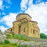 The stone Jvari Church Royalty Free Stock Photography
