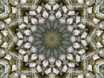 Stone kaleidoscope Royalty Free Stock Photography