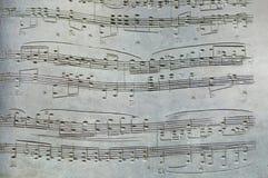 Stone Key Notes Stock Image