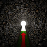 stone keyhole Royalty Free Stock Photography