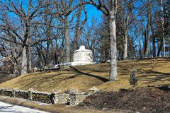 Stone Kiln at Phelps Park in Decorah, Iowa Royalty Free Stock Photo