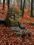 Stone knight Stock Photo
