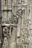 The Stone lace Milan Cathedral Royalty Free Stock Photos