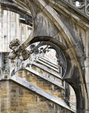 The Stone lace Milan Cathedral Royalty Free Stock Images