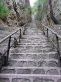 Stone ladder Stock Photography
