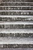 Stone Ladder. Dirty white and mottled stone ladder Royalty Free Stock Photos