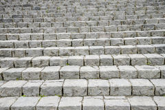 Stone ladder in the pattern Stock Image