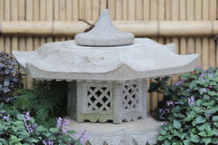 The stone lamp Royalty Free Stock Image