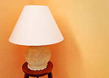 Stone lamp Royalty Free Stock Photo