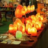 Stone lamps Stock Photos