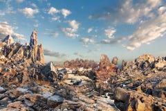 Stone landscape Stock Photos