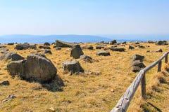 Stone landscape Stock Image