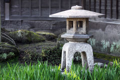 Stone lantern Royalty Free Stock Images