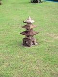 Stone Lantern Stock Photo