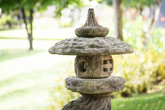 Stone lantern Stock Images