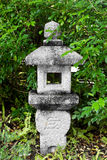 Stone Lantern. Close up stone Lantern in japanese garden Stock Photo