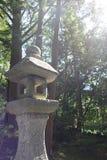 Stone lantern Royalty Free Stock Photo
