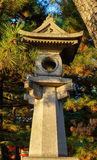 A stone lantern at Hei-an Shrine in Kyoto, Japan Stock Photography