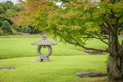 Free Stone Lantern In Korakuen Garden Royalty Free Stock Photos - 81483118