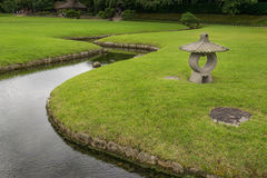 Free Stone Lantern In Korakuen Garden In Japan Stock Photo - 82779060