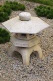 Stone lantern Japanese garden Stock Photos