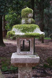 Stone Lantern in Nara Stock Photos