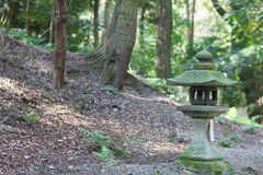 Stone lantern Royalty Free Stock Photography