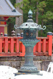 Stone lantern Royalty Free Stock Photos