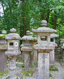 Stone lanterns Stock Photos
